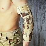 Anatmiczna orteza stawu łokciowego i przedramienia, militarna