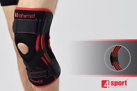 Anatomiczna orteza kolana z elastycznymi szynami i stabilizatorem ACL