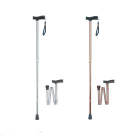 Laska inwalidzka aluminiowa - składana