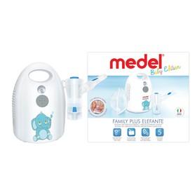 Nowa linia produktowa firmy Medel. Zalety dobrze znanego i cenionego inhalatora Medel Plus z dodatkami dla Twojego dziecka. By inhalacja była jeszcze przyjemniejsza. Atrakcyjny i pomysłowy design, pozwala na łatwą obsługę urządzenia. Zintegrowana rączka u