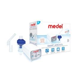 Inhalator przenośny pneumatyczno-tłokowy. Zdziwisz się jak mały może być inhalator gdy weźmiesz do ręki MEDEL SMART. Dzięki wyciszeniu i mądrym rozwiązaniom, inhalacja w podróży nie będzie uciążliwa dla pozostałych współpasażerów, współpracowników.