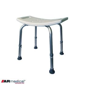 Krzesło prysznicowe - bez oparcia