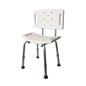 Krzesło prysznicowe -  z oparciem