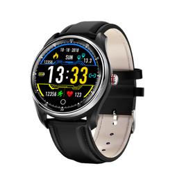 Watchmark -Kardiowatch WMX9 czarny skórzany pasek!!!