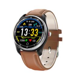 Watchmark -Kardiowatch WMX9 brązowy skórzany pasek!!!