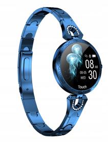 damski zegarek watchmark smartwatch kroki cykle cisnienie pulsometr fashion sty