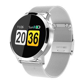 Watchmark- Smartwatch W8 ciśnienie puls sport zdrowie pulsometr ciśnieniomierz zegarek powiadomienia sen