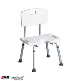 Krzesło prysznicowe z wycięciem U