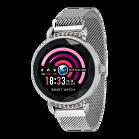 Watchmark Fashion Zegarek Damski dla Kobiet kroki krokomierz fitness kalorie monit snu cykle ciśnienie puls