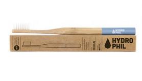 Naturalna, wegańska szczoteczka do zębów z biodegradowalnego bambusa, WŁOSIE ŚREDNIE,  Naturalna szczoteczka do zębów z bambusa HYDROPHIL,