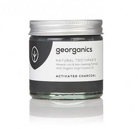 Pasta do zębów, WĘGIEL AKTYWNY, naturalna, mineralna, 60ml, Georganics