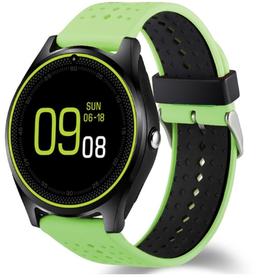 Watchmark - Smartwatch WV9 dziecięcy dla dzieci kids karta sim telefon kroki połączenia dyktafon kamera